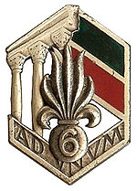insigne régimentaire Type II