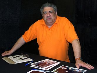 Vincent Pastore - Pastore at the 2013 Wizard World New York Experience