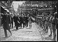 7-7-23, M. Millerand arrive à Moulins (saluant le 36e régiment d'artillerie).jpg