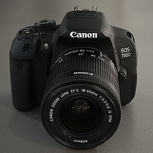 Canon EOS 700D – Wikipedia tiếng Việt
