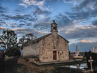 Church of St. Nikola, Dobrelja - Image: 8č. Crkvica u Dobreljima