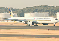9V-SWW - B77W - Singapore Airlines