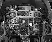 A-5A Vigilante cockpit control panel