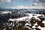 A056, Katmai National Park, Brooks Falls, Alaska, USA, mountains, 2002.jpg