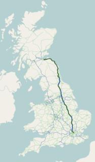 A1 road (Great Britain) Road in Great Britain