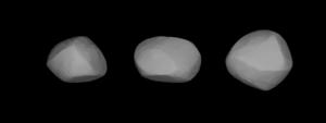 48 Doris - Three-dimensional model of 48 Doris created based on light-curve