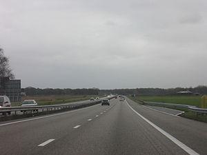 A67 motorway (Netherlands) - The A67 near Venlo.