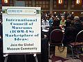 AAM2012 Marketplace of ideas, feat. Wikipedia.JPG