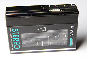 Aiwa - 1980s AIWA HS-P05 Mk II audio cassette player