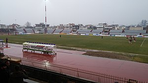 Athlitiki Enosi Larissa F.C. - Alcazar Stadium, the club's old home ground since 1964