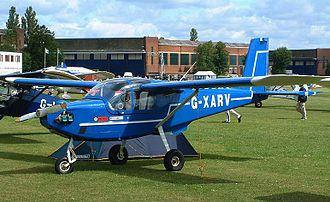 ARV Super2 - Image: ARV with Rotax 912