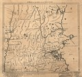 A Map of 100 miles round Boston. LOC gm71005471.tif