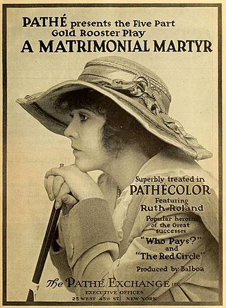 Ruth Roland - Image: A Matrimonial Martyr