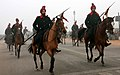 A PBG contingent passes through the Rajpath during the rehearsal for the celebration of 60th Republic Day -2009, in New Delhi on January 06, 2009.jpg