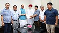 A delegation of the Gorkhaland Movement Leaders calling on the Union Home Minister, Shri Rajnath Singh, in New Delhi.jpg