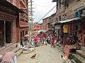 A glance on the street of Changunarayan.jpg