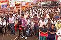 A huge crowed of Yuva at Yuva Melava of the Public Information Campaign on Bharat Nirman, at Akkalkuwa, District Nandurbar, Maharashtra on October 12, 2013.jpg