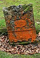 A symbolic gravestone in Kirkmichael Parish Churchyard - geograph.org.uk - 1459926.jpg
