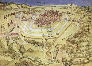 Aalen - Town view of 1528