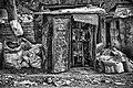 Abandoned Barber Shack (b&w) (11372478796).jpg