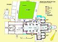 Abbaye Saint-Michel-de.Cuxa, Grundriss, Erdgeschoss, Handskizze.jpg