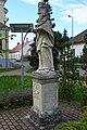 Abda, Nepomuki Szent János-szobor 2021 04.jpg