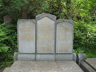 Elijah Cadman - The grave of Elijah Cadman in Abney Park Cemetery