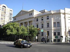 Buenos Aires National Academy of Medicine - The National Academy of Medicine, on Las Heras Avenue