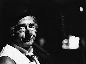 Achille Zavatta - The French Clown Achille Zavatta, 1974.