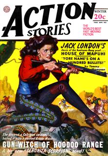<i>Action Stories</i> pulp fiction magazine