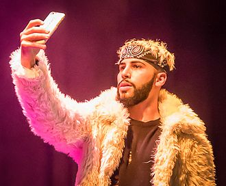 Adam Saleh - Adam Saleh at stage in Oslo in 2016
