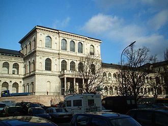 Academy of Fine Arts, Munich - Renaissance Revival style facade (1886).