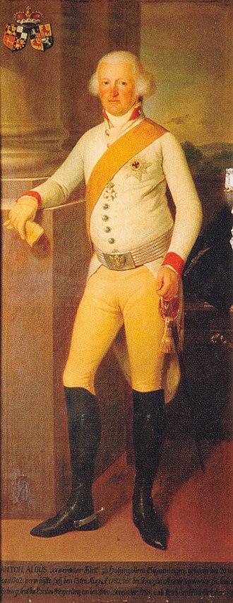 Anton Aloys, Prince of Hohenzollern-Sigmaringen - Image: Adel im Wandel 401