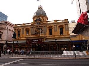 Adelaide Arcade - Grenfell Street entrance