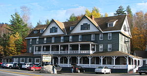 Long Lake, New York - The Adirondack Hotel