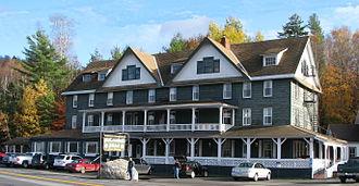 Long Lake, New York - The Adirondack Hotel
