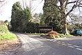 Adlestrop village sign and bus shelter - geograph.org.uk - 290719.jpg
