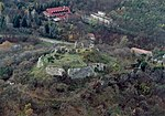 Aerial photograph of Buják Castle 3.jpg