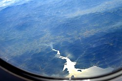 Aerial view of Bhargavi river 03.JPG