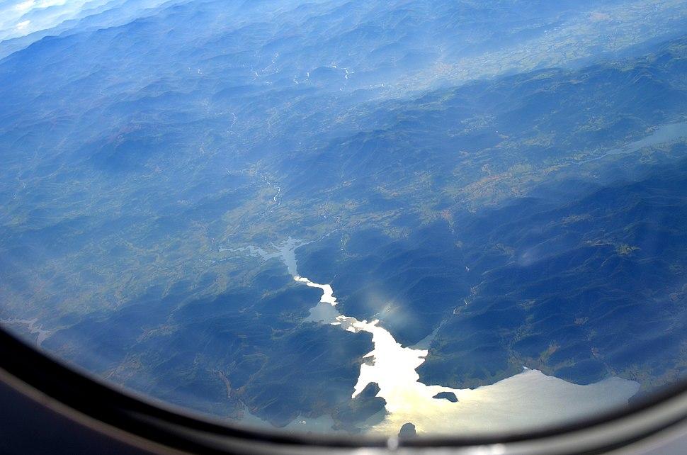 Aerial view of Bhargavi river 03
