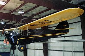Aeronca C-2 - Aeronca C-2N exhibited at the Virginia Aviation Museum