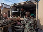 Afghan and US forces save life of Afghan soldier 111011-A-BE343-016.jpg