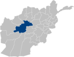 Afghanistan Ghor Province location.PNG
