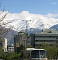 Africa Ave. after Spring Snow on the mountain,TEHRAN - panoramio.jpg