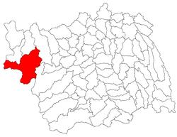 Vị trí của Agăș