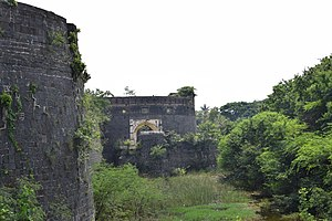 Ahmednagar Fort - Image: Ahmednagar Fort Main Gate