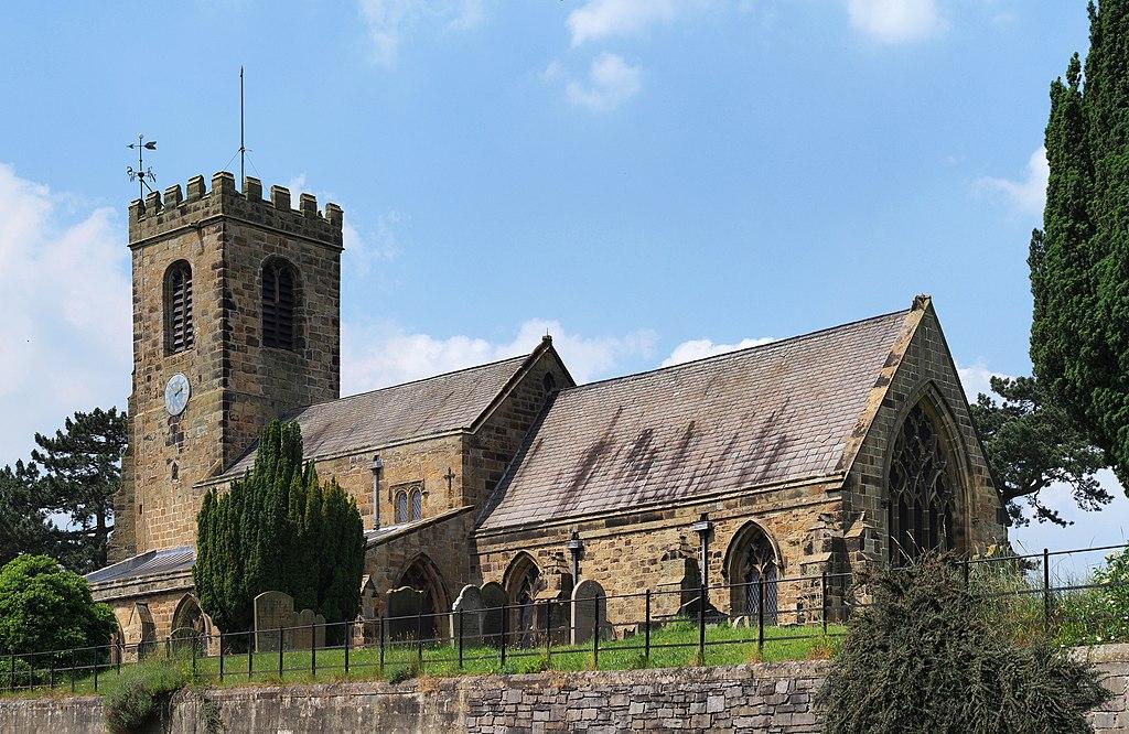 St Helen Parish Church of Ainderby Steeple, North Yorkshire