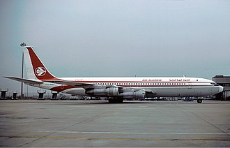 Air Algérie - Boeing 707 of Air Algérie in October 1979