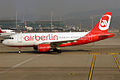 Air Berlin (operated by Belair), HB-IOX, Airbus A319-112 (16430683636).jpg
