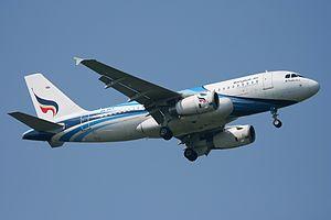 Bangkok Airways - A Bangkok Airways Airbus A319-100 at Bangkok Suvarnabhumi Airport